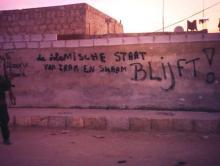 ISIS grafiti