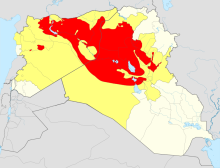 ISIS operations and control in Syria and Iraq
